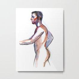 MATT, Nude Male by Frank-Joseph Metal Print