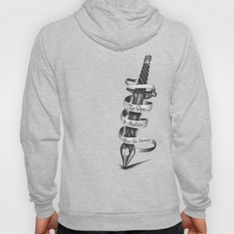 The Pen is Mightier than the Sword Hoody