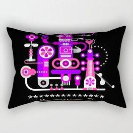 Abstract Art Design Rectangular Pillow