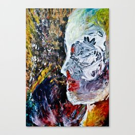 pale woman#2 Canvas Print