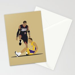 Step Over Lue Stationery Cards