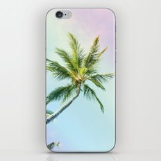 Relaxing Rainbow Color Palms iPhone & iPod Skin