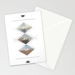 Desert Circle Stationery Cards