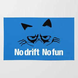 No drift No fun v6 HQvector Rug
