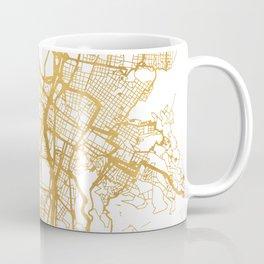 MEDELLÍN COLOMBIA CITY STREET MAP ART Coffee Mug