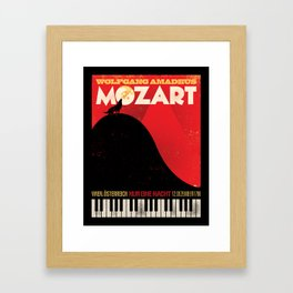 NUR EINE NACHT! Framed Art Print