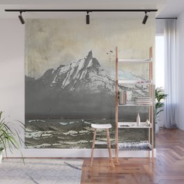 Sea.Mountains.Light. ii. Wall Mural