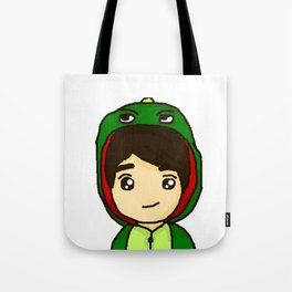 Danisnotonfire the Dinosaur Tote Bag