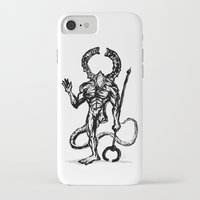 dark souls iPhone & iPod Cases featuring Your friend the Titanite Demon - Dark Souls by Peter Forsman