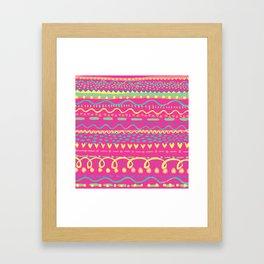 Brush Marks 2 Framed Art Print