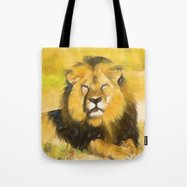 Magnificent Lion Tote Bag