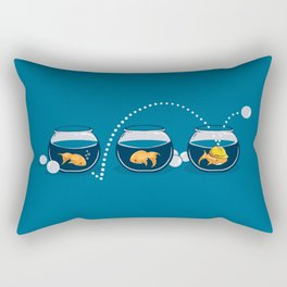 Prepared Fish Rectangular Pillow