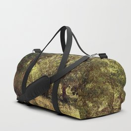 Vintage old forgotten town Duffle Bag