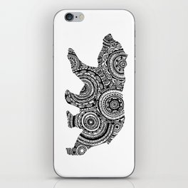Mandala Bear iPhone Skin