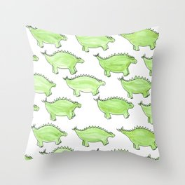Stego Parade Throw Pillow