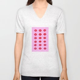 Kisses Unisex V-Neck