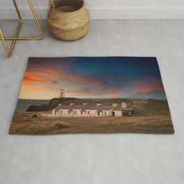 Llanddwyn Island Beacon Anglesey Wales Rug
