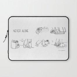 never alone Laptop Sleeve