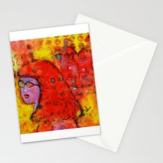 Red Hot Summer Girl Stationery Cards