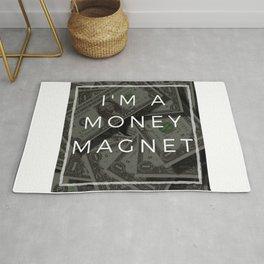 I am a money magnet affirmation Rug