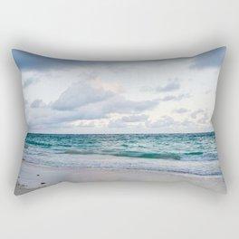 Peaceful Beach Rectangular Pillow