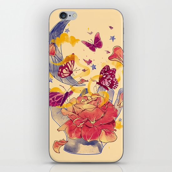 Papillon Ache iPhone & iPod Skin