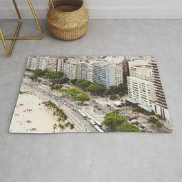 Copacabana Beach. Rio de Janeiro. Rug