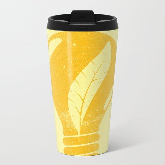 Light as a Feather Metal Travel Mug