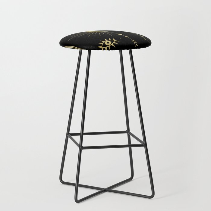 The Moon or La Lune Gold Edition Bar Stool