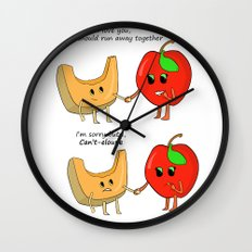 I Can't-eloupe Wall Clock