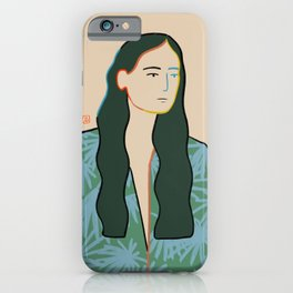 GIRL IN LOVE iPhone Case