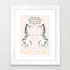Zebras (Dr. Seuss) Framed Art Print