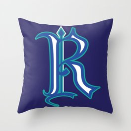 R Throw Pillow