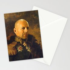 Bruce Willis - replaceface Stationery Cards