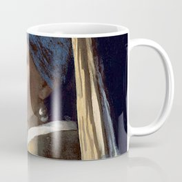 GIRL WITH A PEARL EARRING - JOHANNES VERMEER Coffee Mug