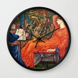Edward Burne Jones - Laus Veneris Wall Clock