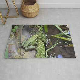 Frog, Not Toad Rug
