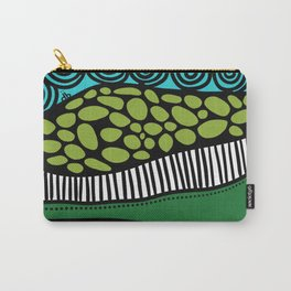 Green Dive -Plongeon vers-textures Carry-All Pouch