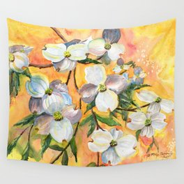 Can You Feel Spring ? Wall Tapestry