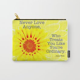 Oscar Wilde Quote Carry-All Pouch