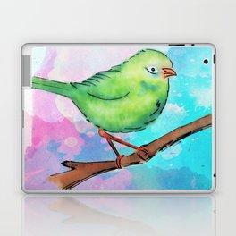 Watercolor bird Laptop & iPad Skin