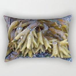 Seaweed bladders -  Bladder wrack  Rectangular Pillow