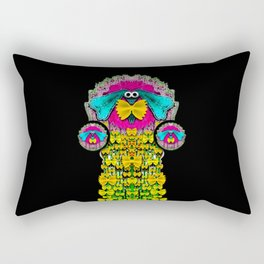 Love me give me a home indoors popart Rectangular Pillow
