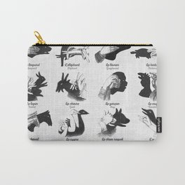 Hand Shadows Carry-All Pouch