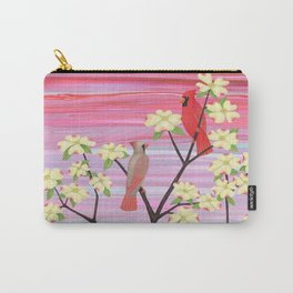 cardinals and dogwood blossoms Carry-All Pouch