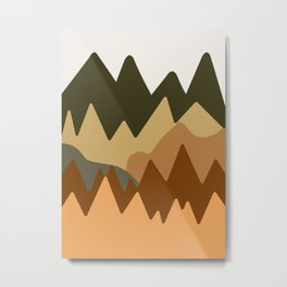 Abstract Landscape #11 Metal Print