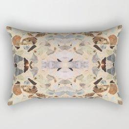 Terrazzo Rorschach Testing Rectangular Pillow