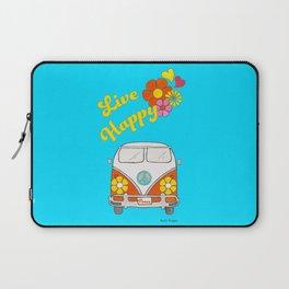Live Happy Van Laptop Sleeve