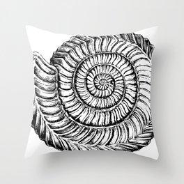 Shell work   Sketch   Gothic Decor   Shell decor   Shell pillow   Alien shell Throw Pillow