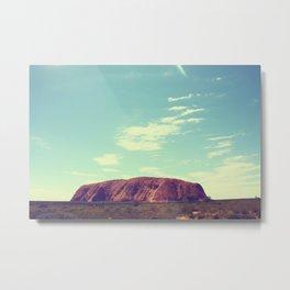 Ayes Rock - Australia Metal Print